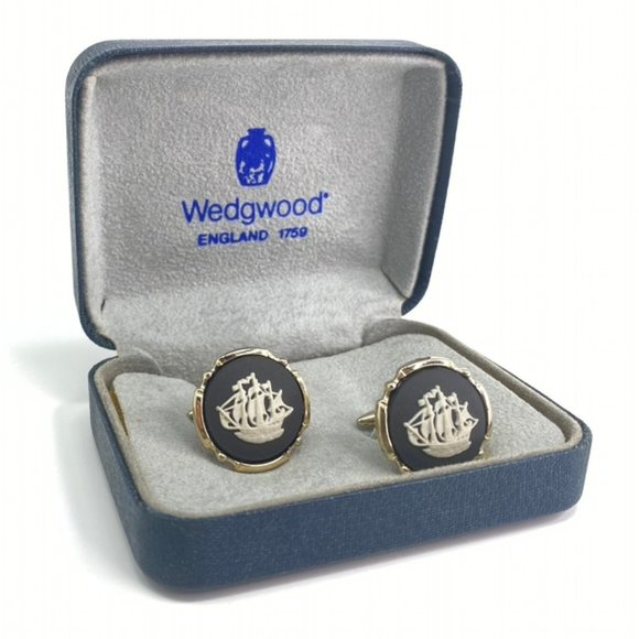 Wedgwood Cufflinks THE GOLDEN HIND